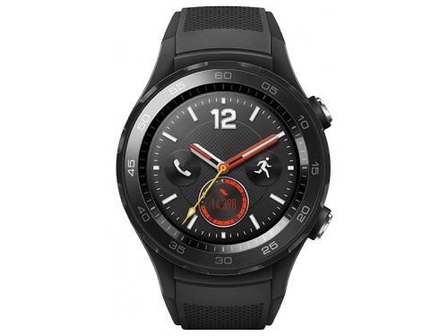 Умные часы Huawei Watch 2 Sport 4G (LEO-DLXX), чёрные, вид 3