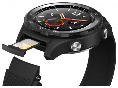 Умные часы Huawei Watch 2 Sport 4G (LEO-DLXX), чёрные, вид 4