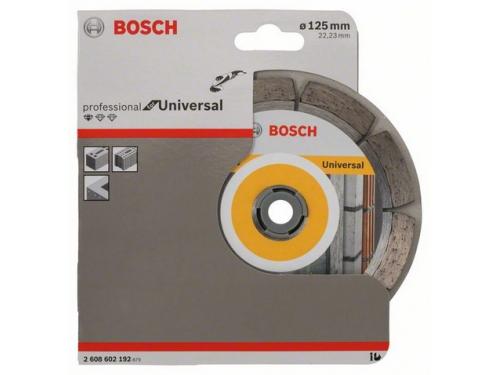 Шлифмашина Алмазный диск BOSCH 2608602192,  универсальный,  125мм, вид 1