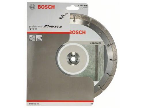 Шлифмашина Алмазный диск BOSCH Concrete Professional ECO BPE,  по бетону,  230мм [2608602200], вид 1