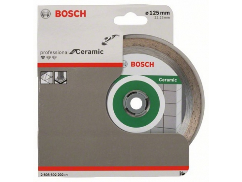 ���������� �������� ���� BOSCH Standard for Ceramic,  �� ��������,  125�� [2608602202], ��� 1