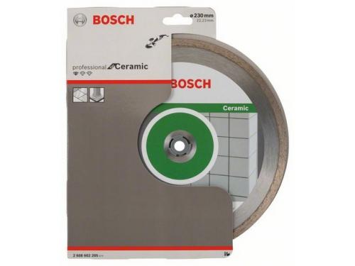 Шлифмашина Алмазный диск BOSCH Standard for Ceramic,  по керамике,  230мм [2608602205], вид 1