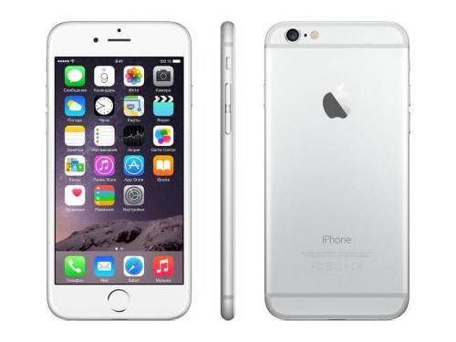 �������� Apple iPhone 6 16GB Silver, ��� 1