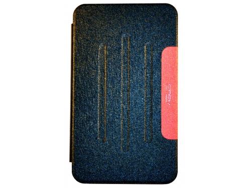 Чехол для планшета Book Cover для ASUS Fonepad 7 FE170CG с силиконовым основанием, без логотипа (чёрный), вид 1