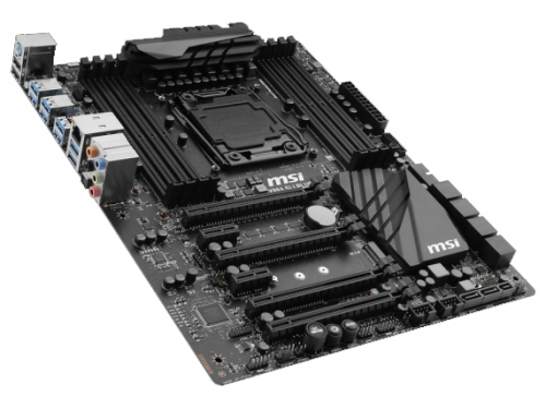 Материнская плата MSI X99A SLI PLUS (Socket 2011-3, Intel X99, 8xDDR4, ATX, USB v3.1), вид 2