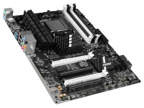 Материнская плата MSI 970A SLI Krait Edition (Socket AM3+ AMD970, DDR3, ATX, SATA3, RAID, USB3.0), вид 2