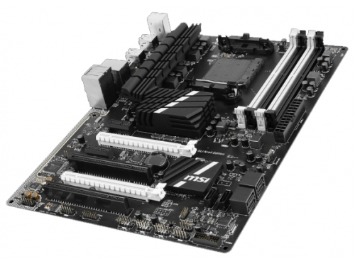 Материнская плата MSI 970A SLI Krait Edition (Socket AM3+ AMD970, DDR3, ATX, SATA3, RAID, USB3.0), вид 3