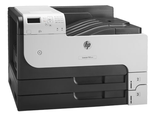 Лазерный ч/б принтер HP LaserJet Enterprise 700 Printer M712dn (CF236A), вид 1
