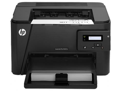 Лазерный ч/б принтер HP LaserJet Pro M201n, вид 1