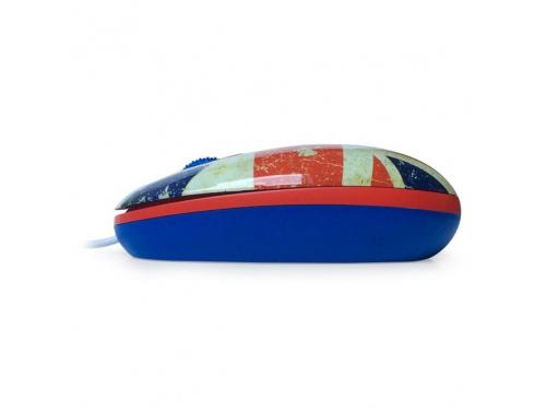 Мышка CBR Breakfast,  1200 dpi, рисунок, USB + коврик, вид 4