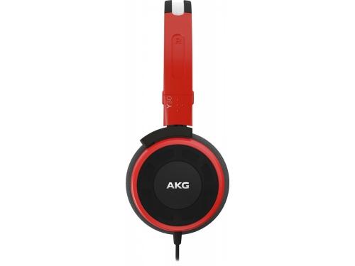 Наушники AKG Y30U, красные, вид 4