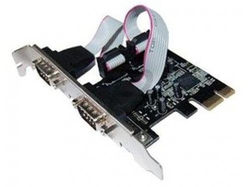 Контроллер STLab I-360 (PCI-E - 2xCOM), вид 1