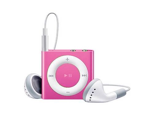 Аудиоплеер Apple iPod Shuffle 2GB, Pink (MKM72RU/A), вид 1