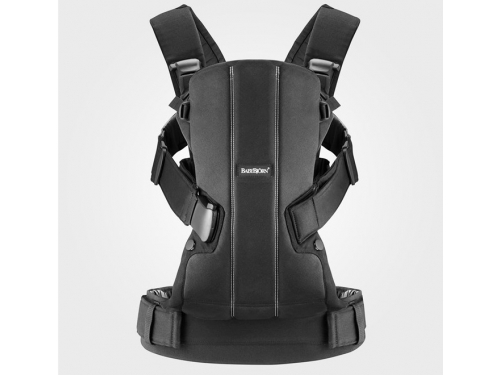 ������-������� BabyBjorn Baby Carrier We Black Cotton, ��� 1