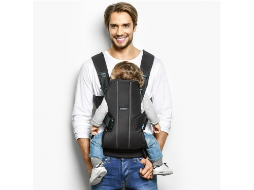 ������-������� BabyBjorn Baby Carrier We Black Cotton, ��� 2
