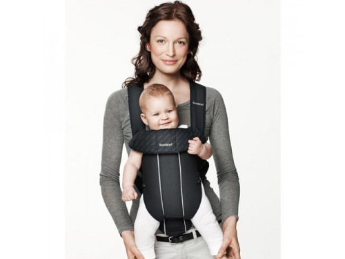 Рюкзак-кенгуру BabyBjorn Original Classic City Black (7188), вид 4
