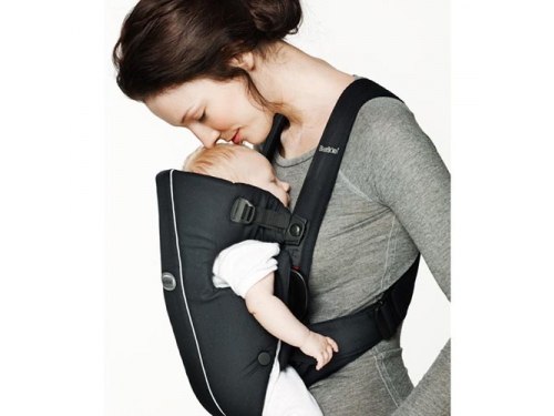 Рюкзак-кенгуру BabyBjorn Original Classic City Black (7188), вид 3