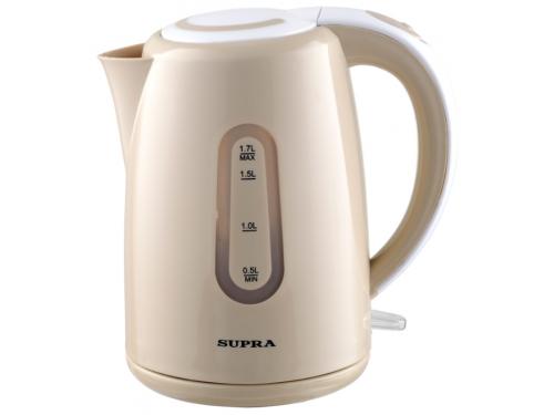 Чайник электрический Supra KES-1720 бежевый, вид 1