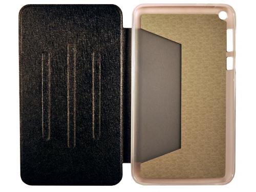 Чехол для планшета Book Cover для ASUS Fonepad 8 FE380CG с силиконовым основанием без логотипа (чёрный), вид 1