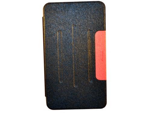 Чехол для планшета Book Cover для ASUS Fonepad 8 FE380CG с силиконовым основанием без логотипа (чёрный), вид 2