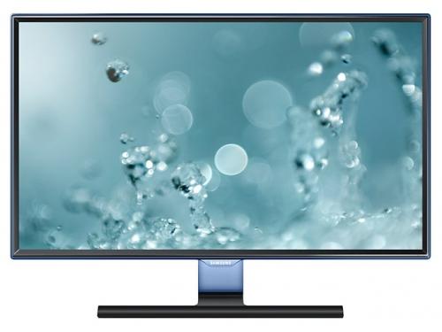 Монитор Samsung S27E390H (27'', Full HD), глянцевый чёрный, вид 1