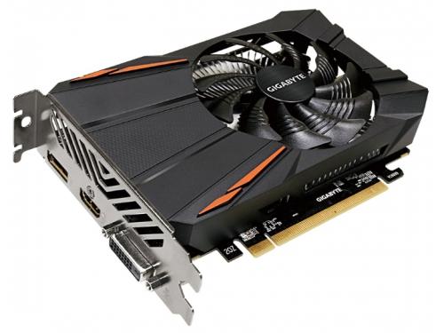 Видеокарта Radeon Gigabyte Radeon RX 550 1183Mhz PCI-E 3.0 2048Mb 7000Mhz 256 bit DVI HDMI HDCP, вид 1