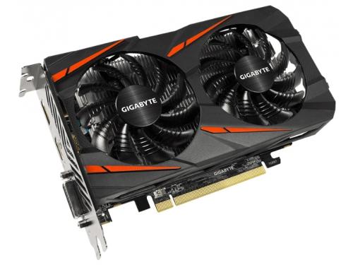 Видеокарта Radeon Gigabyte Radeon RX 550 2Gb 128Bit DDR5 HDMI/DP GV-RX550GAMING OC-2GD, вид 1