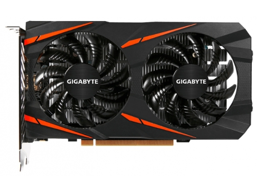 Видеокарта Radeon Gigabyte Radeon RX 550 2Gb 128Bit DDR5 HDMI/DP GV-RX550GAMING OC-2GD, вид 2