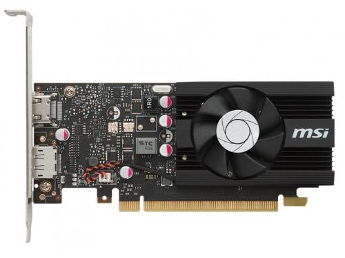 Видеокарта GeForce MSI GeForce GT 1030 1265Mhz PCI-E 3.0 2048Mb 6008Mhz 64 bit HDMI HDCP LP OC [GT 1030 2G LP OC], вид 2