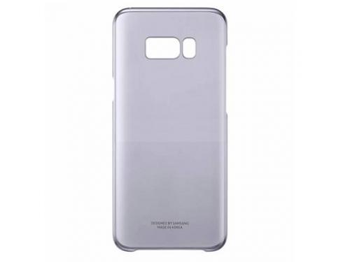Чехол для смартфона Samsung для Galaxy S8+ Clear Cover (EF-QG955CVEGRU) фиолетовый, вид 1