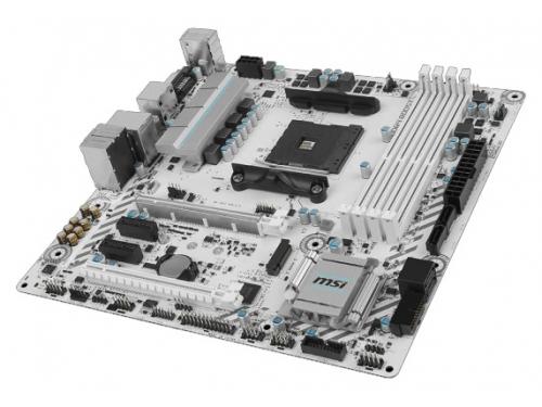 Материнская плата MSI B350M Mortar Arctic (mATX, AM4, AMD B350, 4xDDR4), вид 4