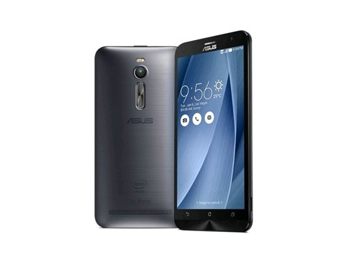 Смартфон ASUS Zenfone 2 ZE551ML  32Gb, серебристый, вид 1