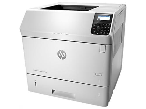 Лазерный ч/б принтер HP LaserJet Enterprise M606DN, вид 3