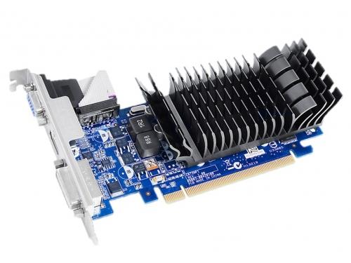 Видеокарта GeForce ASUS GeForce 210 589Mhz PCI-E 2.0 1024Mb 1200Mhz 64 bit DVI HDMI HDCP Silent (210-SL-1GD3-BRK), вид 1