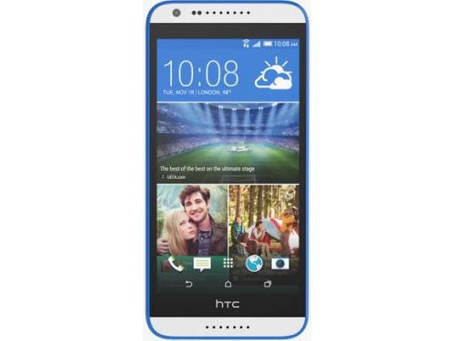 Смартфон HTC Desire 620G белый/синий, вид 1