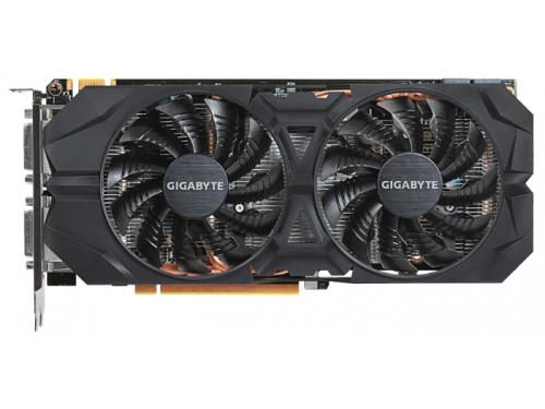 ���������� GeForce GIGABYTE GeForce GTX 960 1241Mhz PCI-E 3.0 4096Mb 7010Mhz 128 bit 2xDVI HDMI HDCP (GV-N960WF2OC-4GD), ��� 1