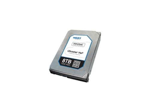 Жесткий диск HGST HUH728080ALE604 (8000Gb, 128Gb, 3.5'', SATA-3, 7200rpm, 0F23668), вид 1