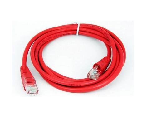 Кабель (шнур) Cable Patch Cord 0.5m , красный, вид 1