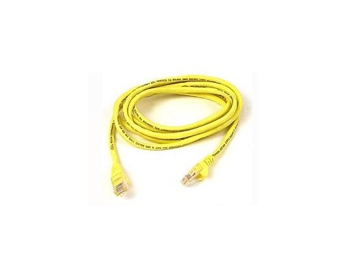 Кабель (шнур) Cable Patch Cord 0.5m , желтый, вид 1