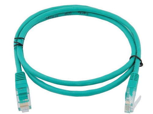 Кабель (шнур) Cable Patch Cord 1m зелёный, вид 1