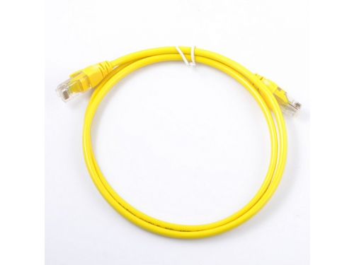 Кабель (шнур) Cable Patch Cord 1m желтый, вид 1