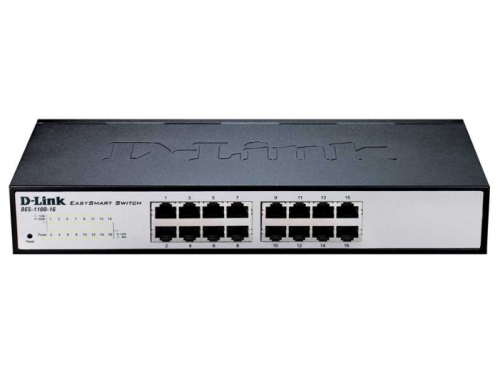 Коммутатор (switch) D-Link DES-1100-16, вид 1
