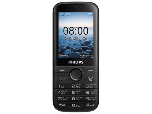 Сотовый телефон PHILIPS E160  черный, вид 1