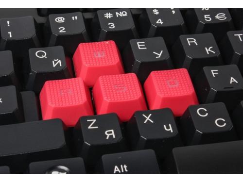 Клавиатура A4-Tech Bloody Q100 USB, чёрная, вид 3