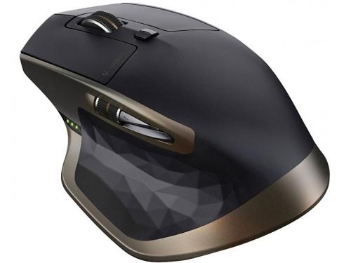 Мышка Logitech MX Master, беспроводная (радиоканал или Bluetooth), черный, вид 1