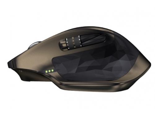 Мышка Logitech MX Master, беспроводная (радиоканал или Bluetooth), черный, вид 5