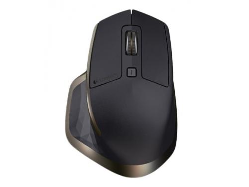 Мышка Logitech MX Master, беспроводная (радиоканал или Bluetooth), черный, вид 4