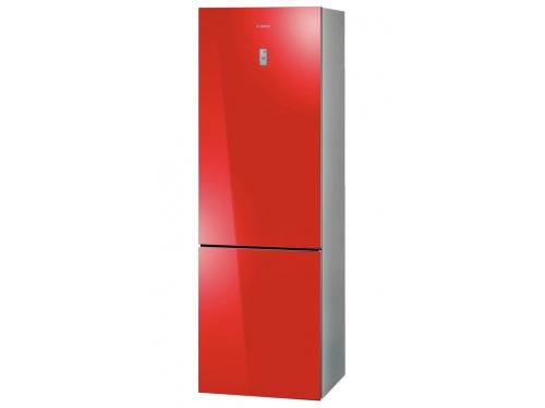 Холодильник Bosch KGN36S55RU, красный, вид 1