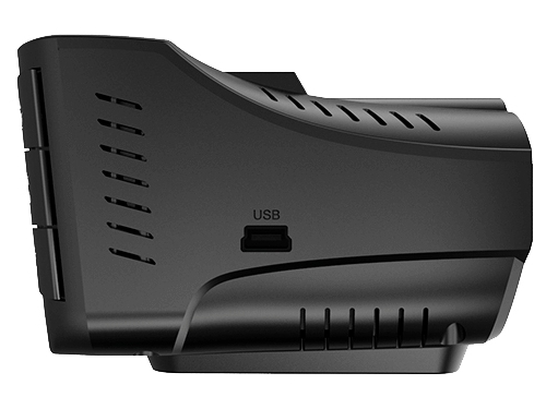 Автомобильный видеорегистратор Sho-Me Combo Wombat (с радар-детектором), черный, вид 4