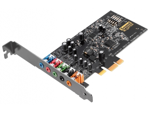 Звуковая карта Creative Sound Blaster Audigy Fx (PCI-E, ASIO 2.0, EAX 5, 24 бит, 192 кГц), вид 1